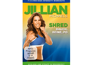 Jillian Michaels - Shred - Bauch, Beine, Po - (DVD)