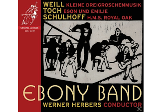 Capella Amsterdam & Ebony Band, Werner & Ebony Band Herbers - H.M.S.Royal Oak/+ - (CD)