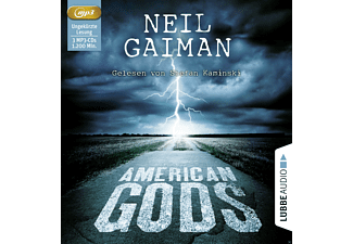American Gods - 3 MP3-CD - Krimi/Thriller