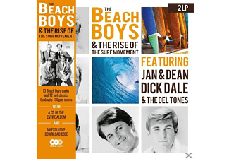 The Beach Boys - The Beach Boys & The Rise Of The Su - (LP + Bonus-CD)