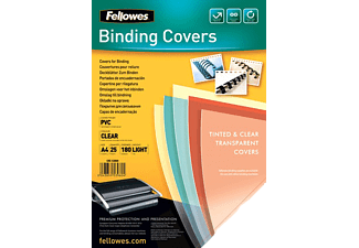 FELLOWES Couvertures PVC Transparentes 180 microns A4 (5380001)