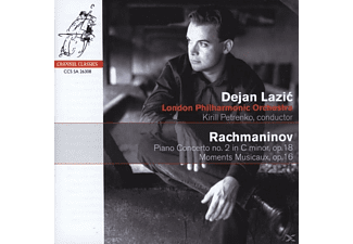 VARIOUS - Piano Concerto No. 2 in C Minor,op. 18, Moments Musicaux, op - (CD)