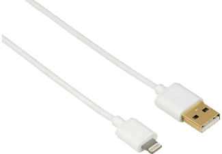 HAMA Lightning Câble USB Blanc (119420)