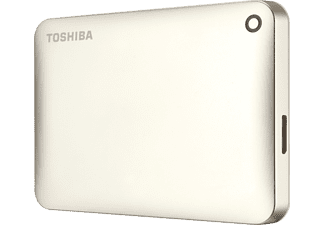 TOSHIBA Canvio Connect II, 500 GB, Gold, Externe Festplatte, 2.5 Zoll