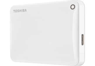 TOSHIBA Canvio Connect II, 1 TB, Weiß, Externe Festplatte, 2.5 Zoll