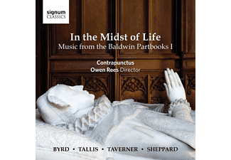 Owen Rees, Contrapunctus - In The Midst Of Life - Music From The Baldwin Partbooks I [CD]