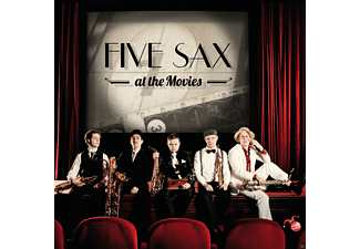 Five Sax - Five Sax At The Movies - (CD)