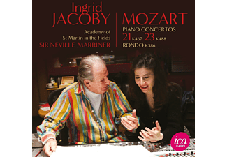 Academy of St. Martin in the Fields, Ingrid Jacoby - Klavierkonzerte 21+23 - (CD)