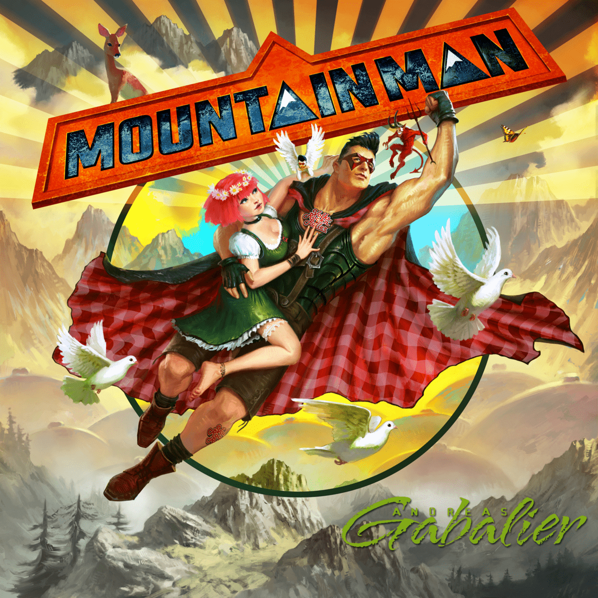 Andreas Gabalier - Mountain Man - (CD)