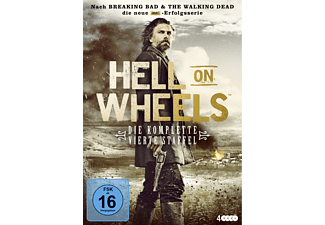Hell on Wheels - Staffel 4 - (DVD)