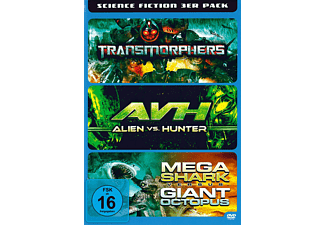 Science Fiction 3 in 1 - (DVD)