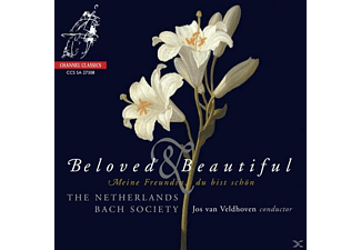 VARIOUS, Netherlands Bach Society/Veldhoven - Beloved & Beautiful - (SACD Hybrid)