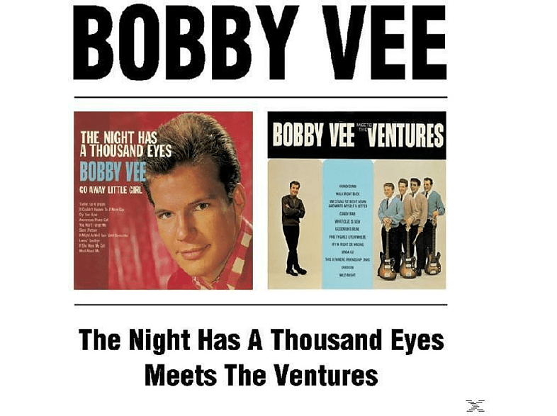 Bobby Vee - The Night Has A Thousand Eyes/Meets The Ventures [CD]