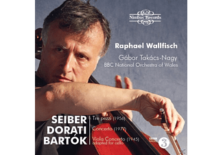 Bbc National Orchestra Of Raphael Wallfisch (vc) - Ungarische Cellokonzerte - (CD)