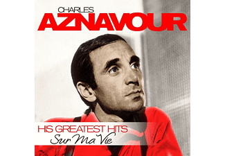 Chalres Aznavour - Sur Ma Vie - His Greatest Hits - (Vinyl)