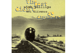 Difranco, Ani & Phillips, Utah - The Past Didn't Go Anywhere - (CD)
