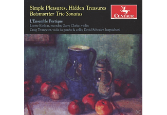 L'ensemble Portique - Simple Pleasures,Hidden Treasures - (CD)