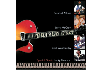 Larry Mccray, Carl Weathersby, Lucky Peterson, Bernard Allison - Triple Fret - (CD)