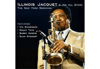 Illinois & His All Stars Jacquet - The New York Sessions - (CD)