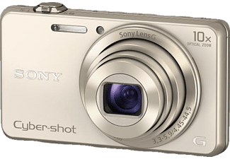 SONY Cyber-shot DSC-WX 220 N.CE3 Digitalkamera, 18.2 Megapixel, 10x opt. Zoom, Gold