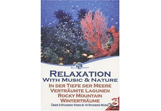 Blue Planet - Relaxation with Music & Nature 1 (3 DVD Set) - (DVD)