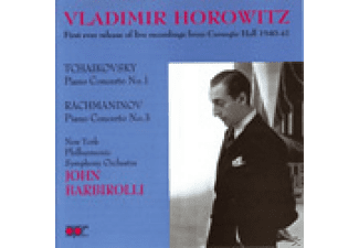Vladimir Horowitz, Sir John Barbirolli - Horowitz In Concert 1940,1941 - (CD)