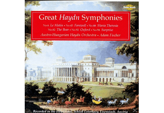 Adam Fischer, Austro-hungarian Haydn Orchestra - Great Symphonies - (CD)
