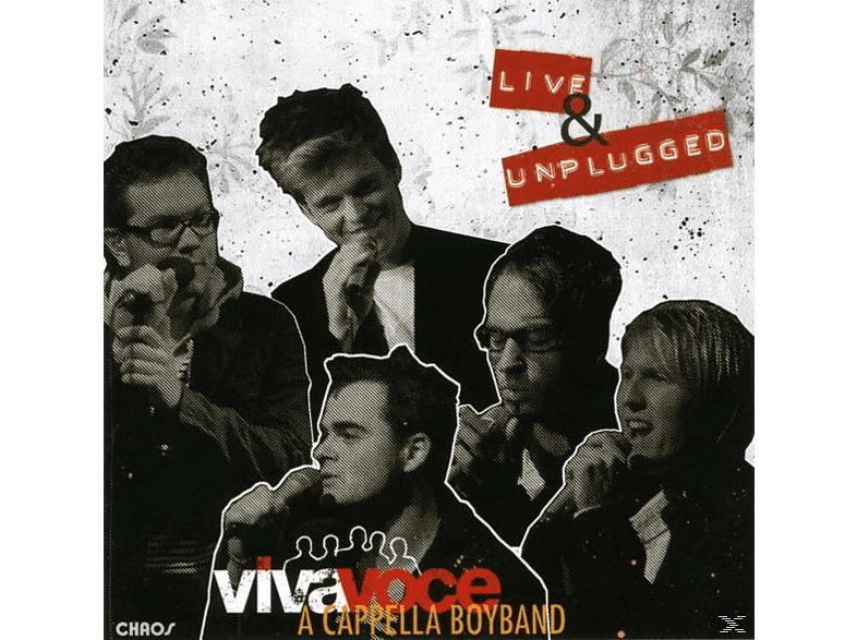 A Cappella Boyband, Viva Voce Die A Cappella Band - Live & Unplugged [CD]