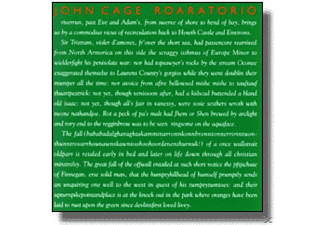 John With Irish Musicians Cage - Vol.06:Roaratorio/Writing For The Second Time - (CD)