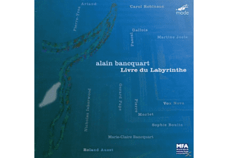Ensemble Vox Nova/Isherwood/Robinson/Voisin - Livre Du Labyrinthe - (CD)