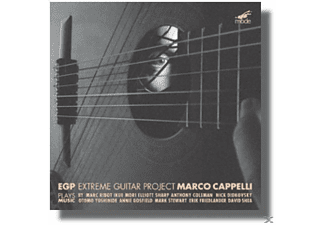 Marco Cappelli, Extreme Guitar Project/Marco Cappelli - Music From Downtown Nyc - (CD)