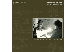 Irvine Arditti - Vol.9:Freeman Etudes: Books 3 & 4 - (CD)