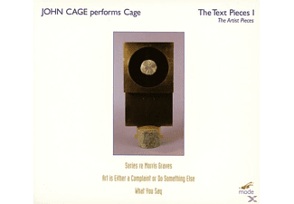 John (komponist) Cage - John Cage Performs Cage-The Text - (CD)
