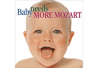 VARIOUS - Baby Needs More Mozart - (CD)