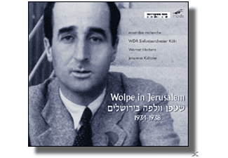 VARIOUS, Ensemble Recherche/WDR SO/Werner Herbers/+ - Wolpe In Jerusalem - (CD)