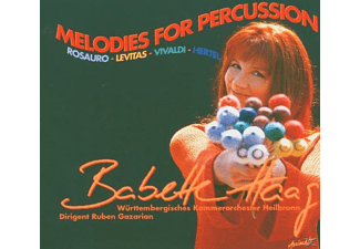 Babette Haag - Melodies For Percussion - (CD)