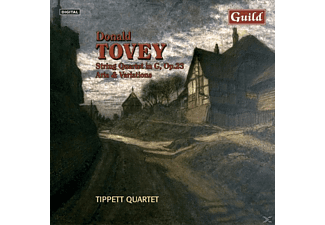 Tippettquartet, The Tippett Quartet - Tovey String Quartets - (CD)