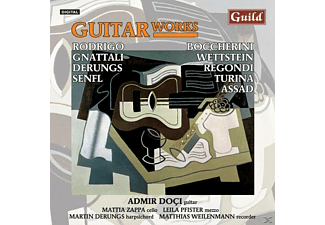DOCI/PFISTER/DERUNGS/ZAPPA - Guitar Works - (CD)