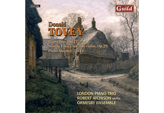 London Piano Trio, Ormesby Ensemble, London Piano Trio/Ormesby Ensemble - Tovey Chamber Music - (CD)