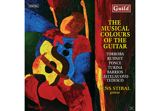 Jens Stibal - Musical Colours Of The Guitar - (CD)