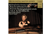 Carol Rosenberger - Beeth./Klav.Son.op.57+111 [CD]