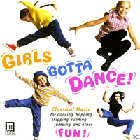 Schwarz, Orbelian, La Guitar Quartet - Girls Gotta Dance [CD]