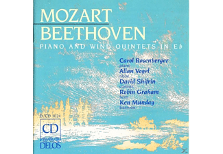 VARIOUS, Vogel, Rosenberger, Shifrin - Moz./Beeth./Klav.Quintette - (CD)