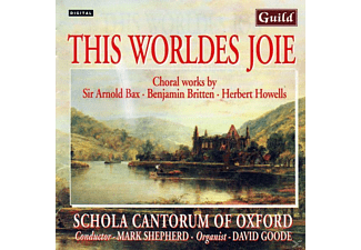 SHEPHERD/SCHOLACANT.OXFORD, SHEPHERD/SCHOLA CANT.OXFORD - Bax/Britten/+:Chorwerke - (CD)