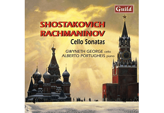 GEORGE/PORTUGHEIS, George,Gwyneth/Portugheis,Alberto - Rachmaninov Cellosonate - (CD)