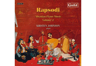 Kirsten Johnson - Rapsodi Albanian Piano Music 2 - (CD)
