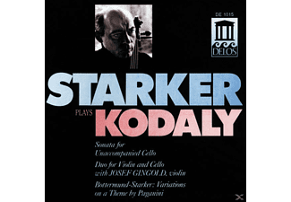Janos Starker, Josef Gingold - Starker Plays Kodaly - (CD)