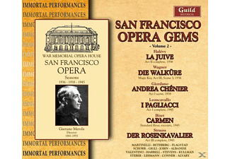 FLAGSTAD/GIGLI/CLEMENS - San Francisco Gems Vol.2 - (CD)
