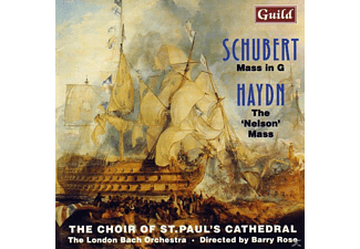 The Choir Of St.Paul's Cathedral, The London Bach Orchestra - Schubert Messe In G/Haydn - (CD)