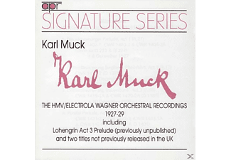 Karl Muck, Orchester der Berliner Staatsoper - Signature Series: The HMV/Elektrola Recordings 1927-1929 - (CD)